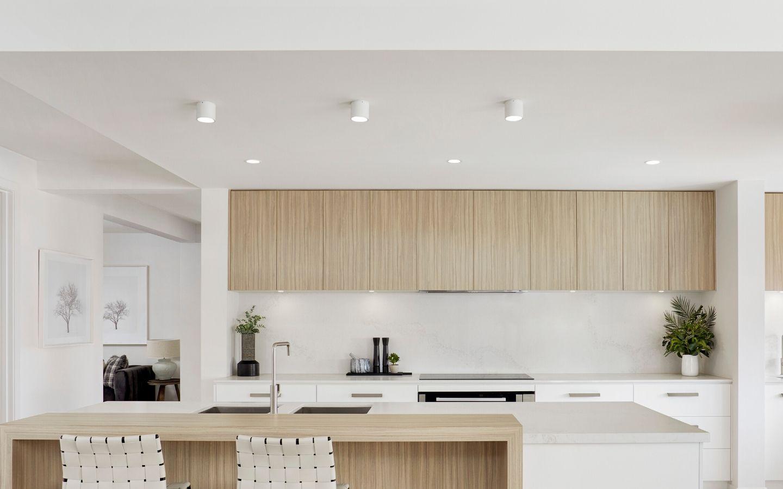 cucina contro soffitto cartongesso brescia