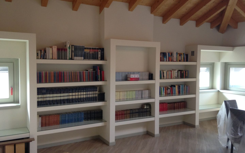 libreria cartongesso lb soluzioni